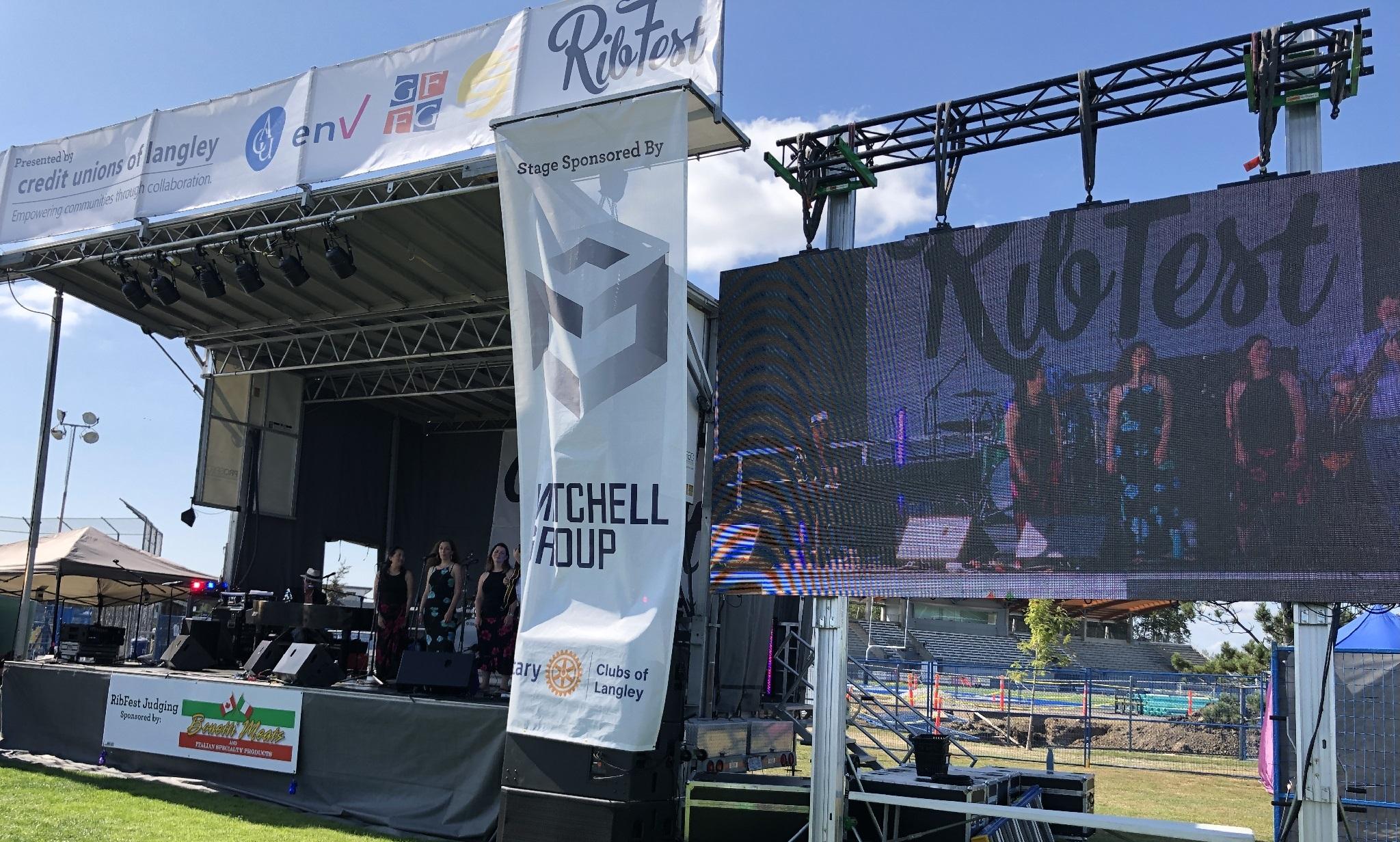 Rib Fest Langley